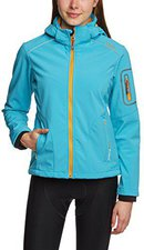 CMP Campagnolo Women Softshell Jacket Zip Hood (3A05396) Turkis