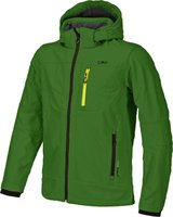 CMP Campagnolo Man Softshell Jacket Zip Hood (3A01787) Pepper Green-Antracite