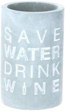 Räder Poesie et Table Vino Weinkühler Save water drink wine