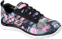 Skechers Flex Appeal Floral Bloom black