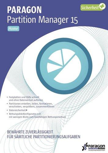 Avanquest Paragon Partition Manager 15 Pro (DE)