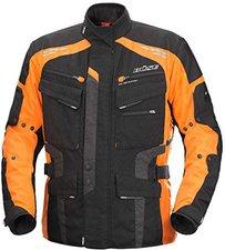 Jacke schwarz orange