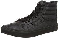 Vans Sk8-Hi Slim Zip Perf Leather all black