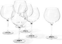 Leonardo Ciao+ Burgunder-Glas 6er Set