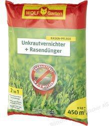 Wolf-Garten Unkrautvernichter & Dünger SQ 450