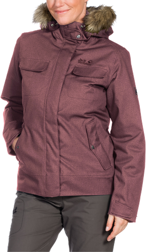 Jack Wolfskin Cypress Mountain Women Jacket Dusty Mauve