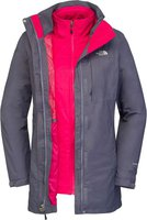 The North Face Women's Solaris Triclimate Parka Eu Garnet Purple