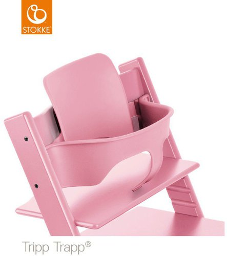 stokke tripp trapp babyset soft pink g nstig kaufen. Black Bedroom Furniture Sets. Home Design Ideas