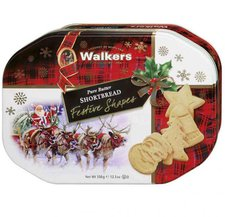 Walkers Pure Butter Shortbread Festive Shapes (350g)