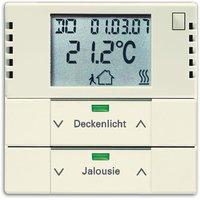 Busch-Jaeger Raumtemperaturregler mit Tastsensor 2fach (6128-82)