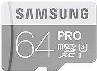 Samsung PRO microSDXC 64GB UHS-I U3 (MB-MG64EA)