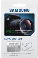 Samsung PRO SDHC 32GB UHS-I U3 (MB-SG32E)