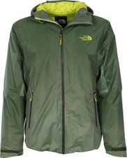 The North Face Herren FuseForm Dot Matrix Insulated Jacke Scallion Green Tri Matrix