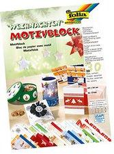 Folia Motivblock Weihnachten