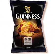 Burts Potato Chips Guinness Flavour (150g)