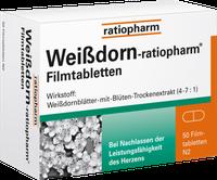 Ratiopharm Weißdorn Filmtabletten (50 Stk.)