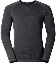 Odlo Revolution TW Warm Shirt l/s Men black melange