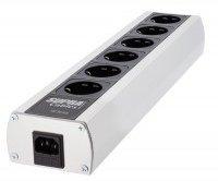 Supra Cables 6-fach aluminum/schwarz MD-06EU MK3