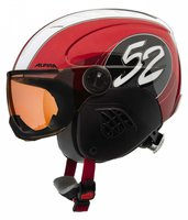 Alpina Eyewear Carat Visor red-race