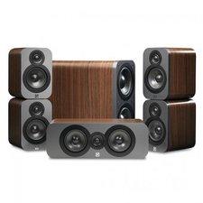 Q Acoustics 3000 5.1 Cinema Pack walnuss