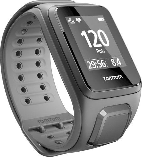 TomTom Runner 2 Cardio - schwarz/anthrazit - breit