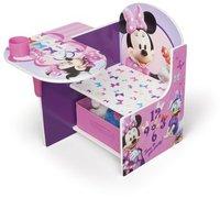 Delta children Minnie Mouse Stuhl mit Seitentisch und Aufbewahrung