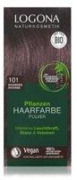 Logona Pflanzen-Haarfarbe-Pulver schwarz intense (100g)
