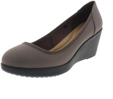 Crocs Marin ColorLite Wedges pewter/black