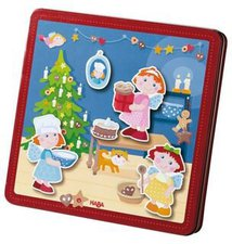 Haba Magnetspiel Weihnachtsbäckerei