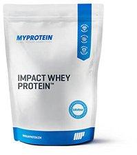 MyProtein Impact Whey Protein 2500g Erdbeer Stevia