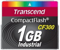 Transcend Extreme Compact Flash 1GB 300X (TS1GCF300)