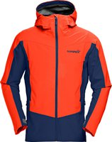 Norrona Falketind Windstopper Hybrid Jacket Men Hot Chili