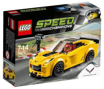 LEGO Speed Champions Chevrolet Corvette Z06 (75870)