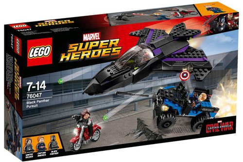 LEGO Super Heroes Black Panther Pursuit (76047)