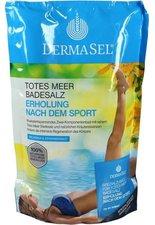 DermaSel Totes Meer Badesalz Erholung nach dem Sport (400 g + 20 ml)