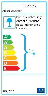 Albert Leuchten Wegeleuchte 654126