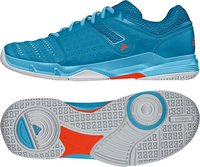 Adidas Court Stabil 12 Wmn bright cyan/ftwr white/solar red
