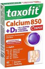 Taxofit Calcium 850 + D3 Depot Tabletten (45 Stk.)