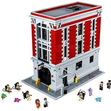 lego ghostbusters feuerwehr hauptquartier 75827 g nstig. Black Bedroom Furniture Sets. Home Design Ideas