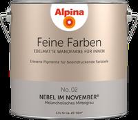Alpina Farben Nebel im November 2,5 l