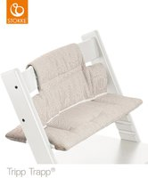 Stokke Tripp Trapp Kissen grey loom stripes