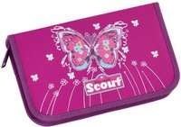 Scout Etui 23-tlg. Purple Butterfly