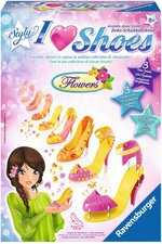 Ravensburger Styly I Love Shoes Flowers