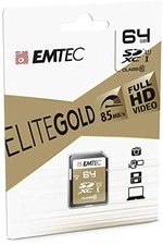Emtec Gold+ SDXC UHS-I U1 64GB (ECMSD64GXC10GP)