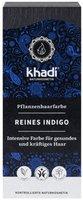 Khadi Naturprodukte Pflanzenhaarfarbe reines Indigo Pulver (100 g)