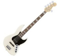 Fender American Elite Jazz V Olympic White