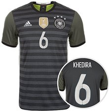 Adidas Deutschland Away Trikot 2015/2016 + Khedira Nr. 6
