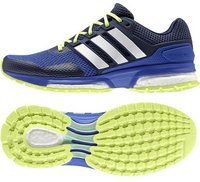 Adidas Response Boost 2.0 Women bold blue/white/semi frozen yellow