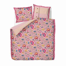 PIP Floral Fantasy pink (80 x 80 + 135 x 200 cm)