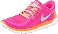 Nike Free 5.0 2014 GS Girls pink power/metallic silver/white